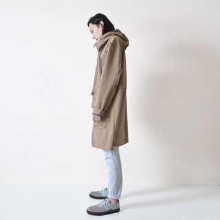 AFTER - hooded long coat