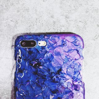 Nebula Nebulae ll hand-painted oil painting phone case