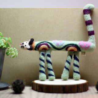 Cat-Wool felt doll