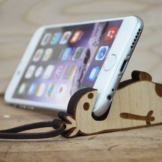 【Peej】'I love to Eat' Phone Stand