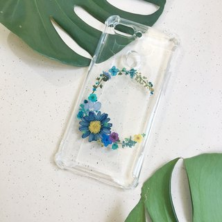 C for Catherine  :: initial pressed flower phonecase