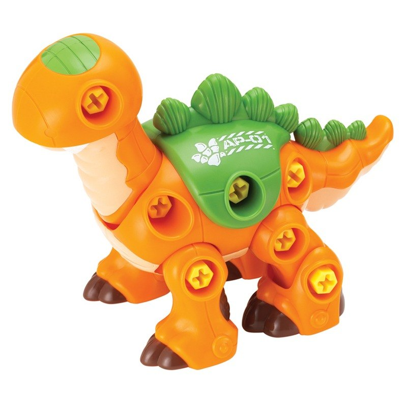 NG commodity Hap-P-KidDIY assembled small dinosaur-Stegosaurus