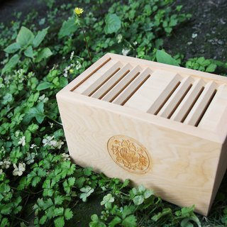 Hinoki Coin Bank