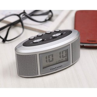 Time Vision - Loud Alarm Clock (fashion silver)