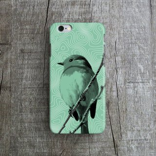 Bird,- Designer iPhone Case. Pattern iPhone Case. One Little Forest
