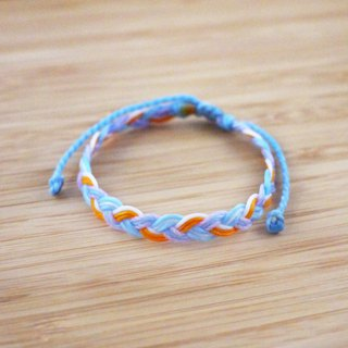 [Long time] silk wax line braided bracelet