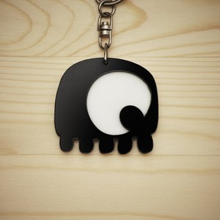 【Peej】'Apple of my eye' Double layered Acrylic key chains/necklaces
