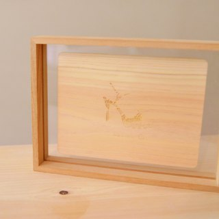 "Wooden Frame、For 5x7"" photo"