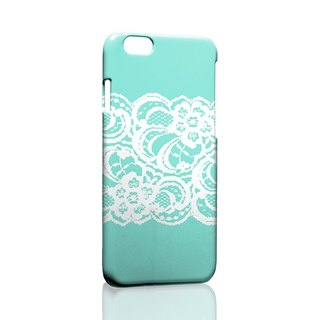 Sky blue white lace custom Samsung S5 S6 S7 note4 note5 iPhone 5 5s 6 6s 6 plus 7 7 plus ASUS HTC m9 Sony LG g4 g5 v10 phone shell mobile phone sets phone shell phonecase