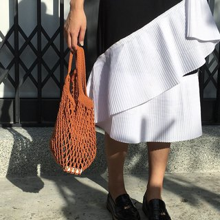 Hand-woven mesh bag S・optional color