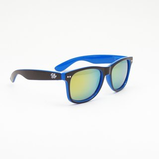 BLR sunglasses [ Black/Blue ]