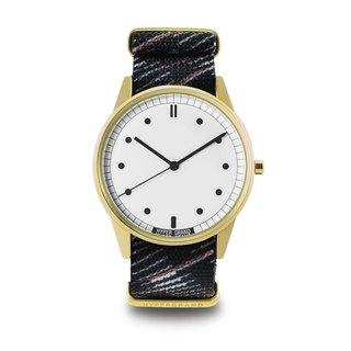 HYPERGRAND - 01 Basic Series - RAPIDE Grey White Light Watch (Gold)