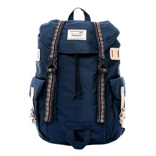 Doughnut Vintage Street Backpack - Classic Dark Blue ~~ Limited Quantity