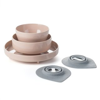 Miniware Kids Dinnerware Set of 5 - Sandy Stone