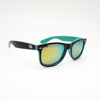 BLR sunglasses [ Black/Tiffany green ]