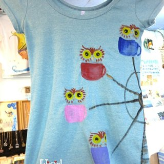 Ferris wheel Winwing owl painted clothing