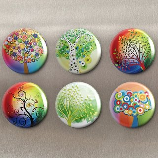 Tree of Life - Magnet (6 in) / Badge (6 in) / Birthday Gift [Special U Design]