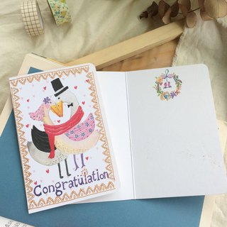 Universal card -Congratulation (wedding congratulations card)