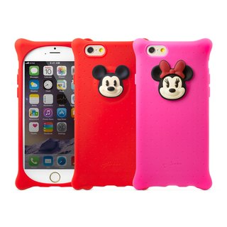 Bone / iPhone 6 / 6S Bubble Case - Mickey / Minnie