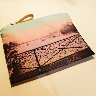 【Traveling Well】Blank Bags【Sena River Scene】