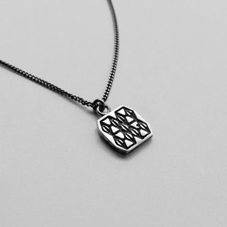 Mosaic Line I-06 925Silver Necklace