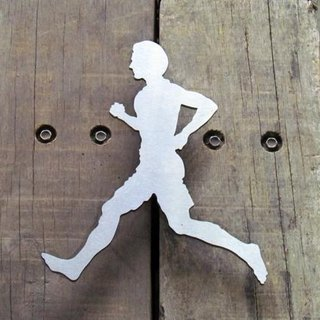 * Runners! * Man-medal display rack for flexible space planning Medals hanger, marathon, cycling iron man, road race