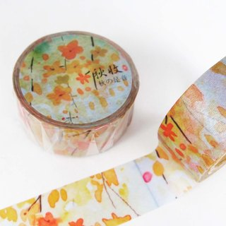 Autumn harvest Japan and paper tape