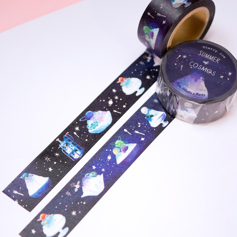 Cosmic Ice │ Starry Ice Paper Tape