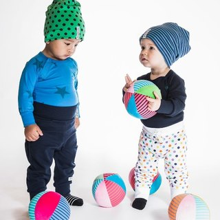 [Swedish] organic cotton cover belly belly pants dark blue (suitable for 6M-24M) infants