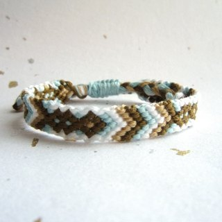 Tribal lucky rope woven bracelet (optional color)