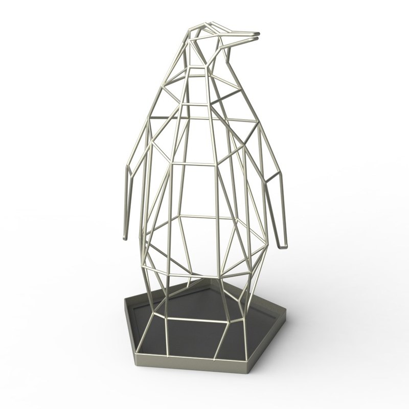 Penguin umbrella stand - Sand Nickel Limited