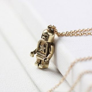 Pendant necklace robot (s).