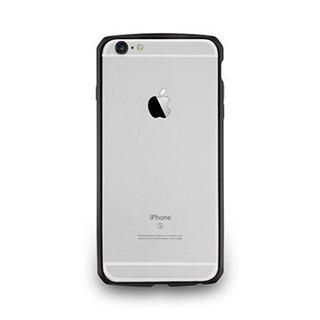 iPhone6 ​​/ 6s- Carbon grain aluminum protective frame - black ink