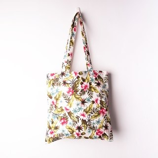Shuttle in the tropical forest shoulder bag (Tropical forest)