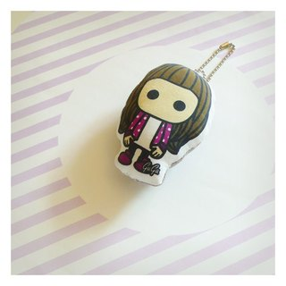 Friends Charm baby ♡ ((michelle)) ☌ Purple Polka Dot Jacket