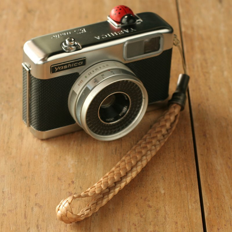 HIPSIONG camera wrist strap -Pinecone (light brown)