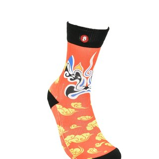 Hong Kong Design | Fool's Day stamp socks -Meng Jiao Hai 00151