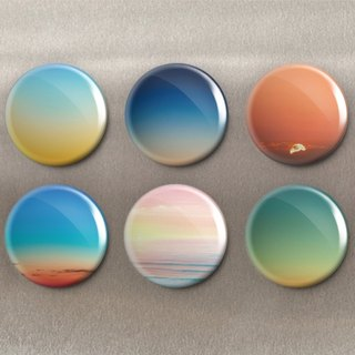 Sunset - Magnet (6 in) / Badge (6 in) / Birthday Gift [Special U Design]