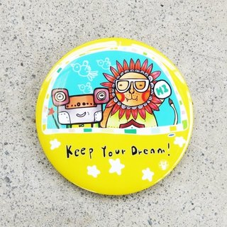 Badge [ Keep Your Dream ]