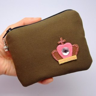 Zipper pouch / coin purse (padded) (ZS-54)