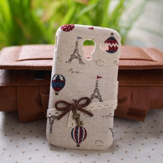 Paris Eiffel Tower cloth small protective cover phone shell Asus Asus Zenfone 4 Zenfone 5 Zenfone 6 HTC One M8 One 2 mini