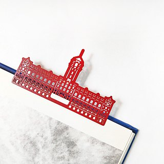 MARK TAIWAN Mai Mai Treasure Map - Presidential Palace Metallic Bookmarks - Red