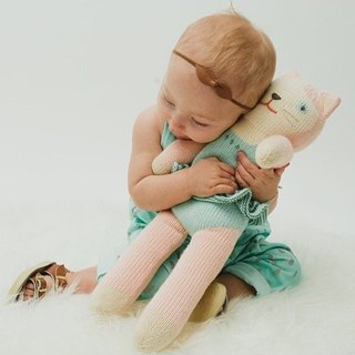 American Blabla Kids | Cotton Knitting Doll (Big Only) - Flying Cat B21040000