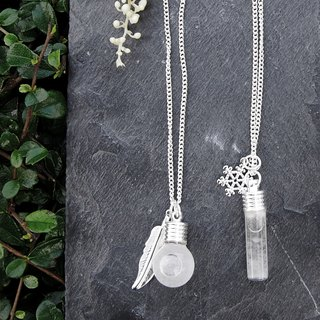 Fill in the blank  (Medium) Storm glass necklace No.4 Spherical or No.6 Testtube