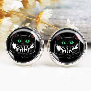 Greedy black cat - ear clip earrings earrings ︱ ︱ ︱ little face modified fashion accessories valentines
