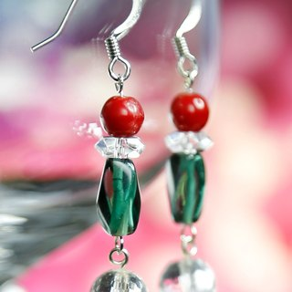 E0281- Natural Gemstone Earrings