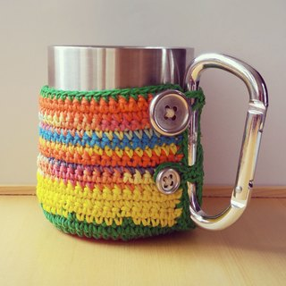 tAb│ national wind stainless steel camping mug