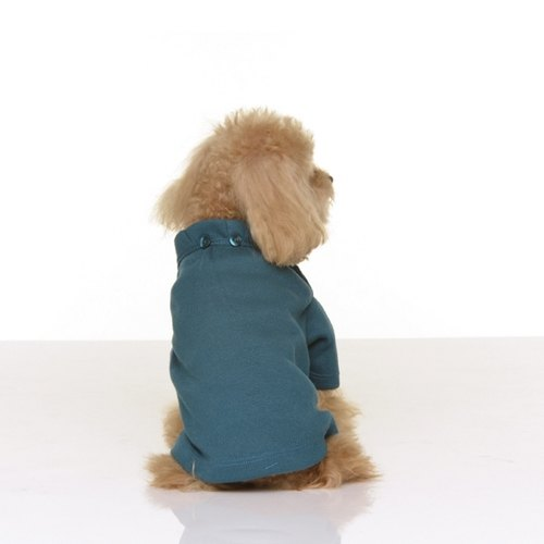Fabrizio method Beach [ Family. Partners ] installed small round neck wrinkle Princess Pet Yui - 3 colors
