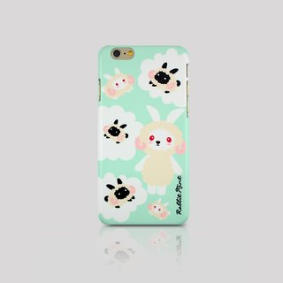 (Rabbit Mint) Mint Rabbit Phone Case - Merry Boo radiant - iPhone 6 (M0016)