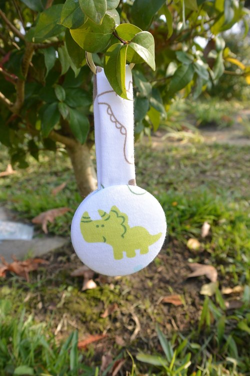 Feel cloths keychain - Dinosaurs